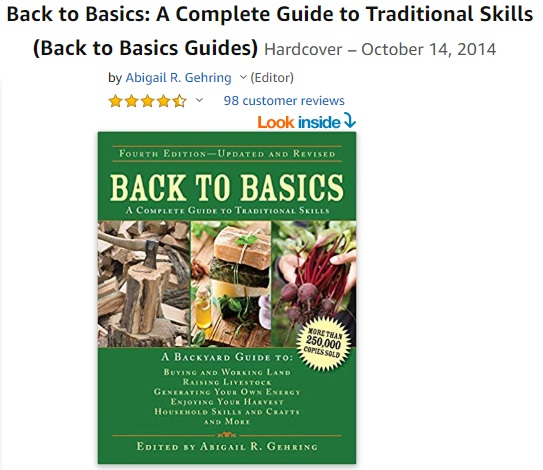 Back to Basics - Complete Guide to Traditional Skills - How to Live off the Land