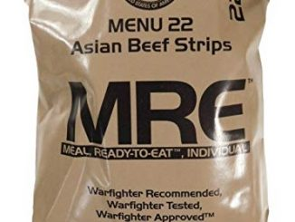 Best Emergency Foods MRE Meals Ready to Eat