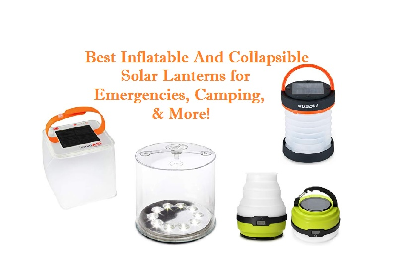 best inflatable and collapsible solar lanterns
