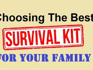 Best Family Emergency Survival Kits