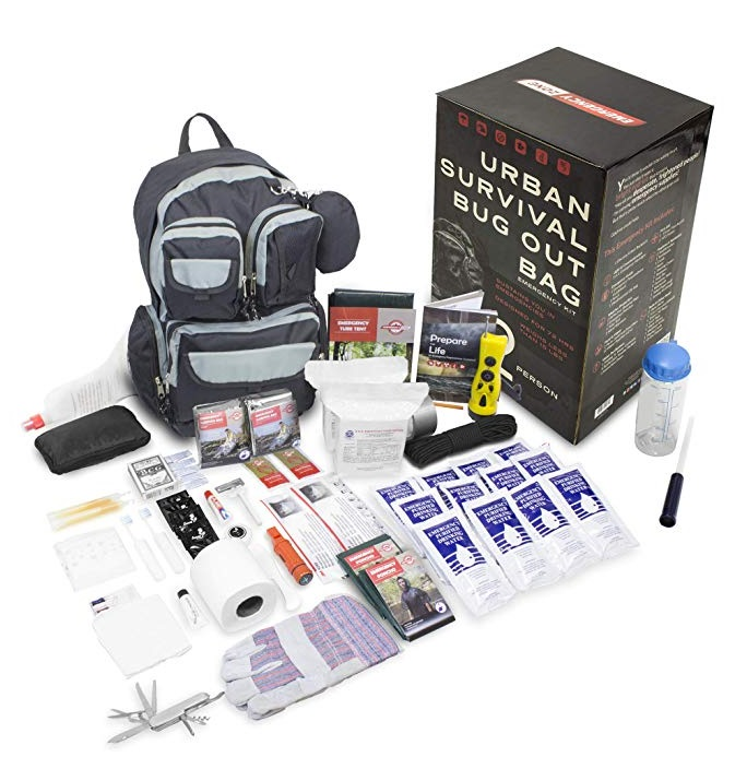 Best Emergency Survival Kits - Emergency Zone Urban Survival 72-Hour Bug Out/Go Bag