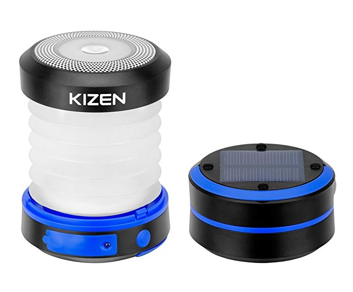 Kizen Solar or USB Powered LED Lantern