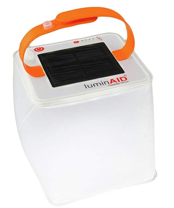 LuminAID Solar Inflatable Lantern as Seen on Shark Tank