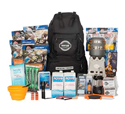 Our Pick for Best Emergency Kit - Sustain Supply Co. 9-08400Premium Emergency Survival Bag