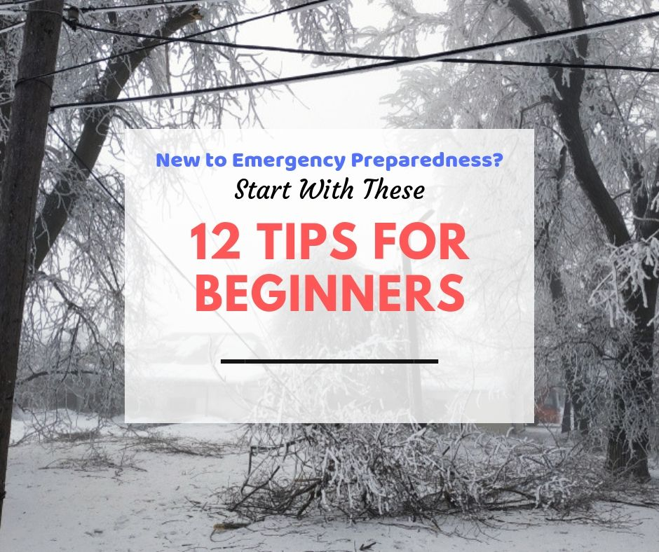 tips for new preppers