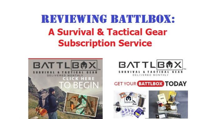 BattlBox Review - Battle Box Subscription Service