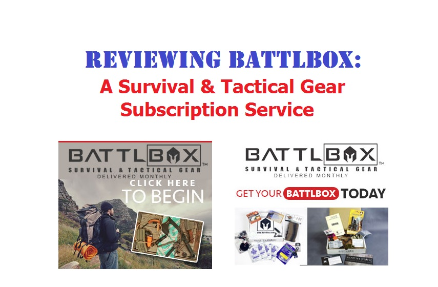 BattlBox Review - Battle Box Subscription Service