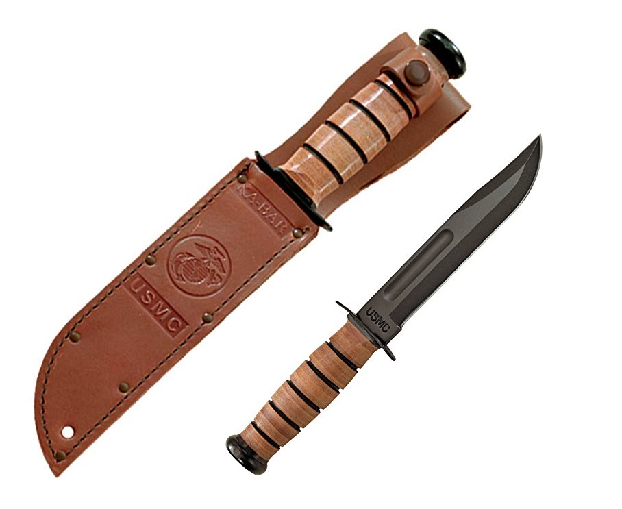 Best Fixed Blade Survival Knives - KA-BAR USMC Knife Review