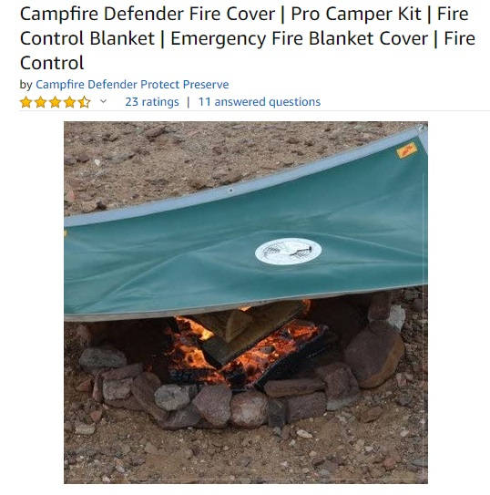 Campfire Defender by Fireside Outdoor