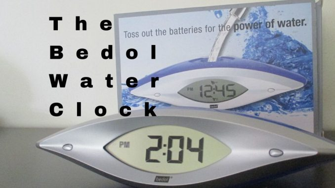 The Bedol Water Clock Review