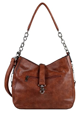 YKK Locking Ashley Chain Concealed Weapon Hobo by Lady Conceal