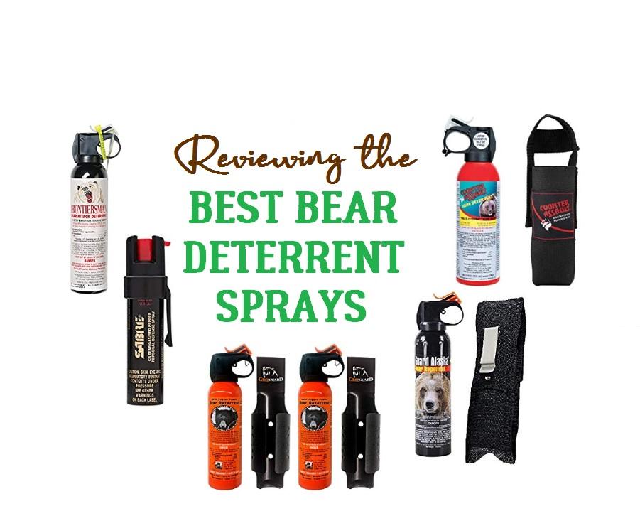 Best Bear Sprays Reviewed - Best Bear Deterrents
